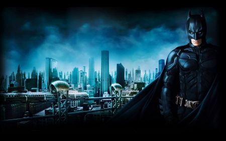 Free Batman 3 Gotham City Wallpaper