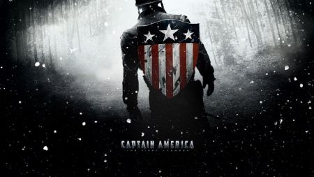 Free Captain America Dark Wallpaper