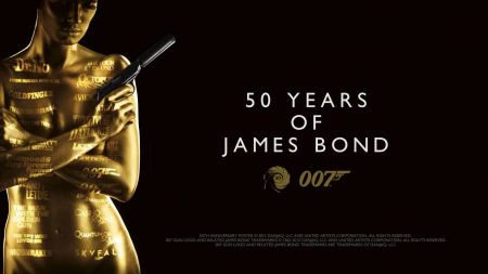 Free 50 Years Of James Bond Wallpaper