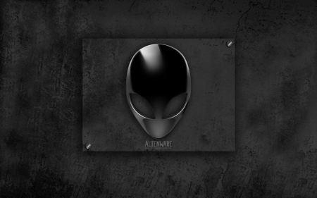 Free Alienware Black Wallpaper