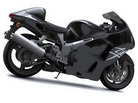 Free Suzuki Hayabusa Pure Black Normal