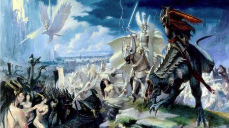 Free Fantasy Warrior Battle