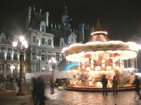 Free Paris In Night Widescreen Hd Wallpaper