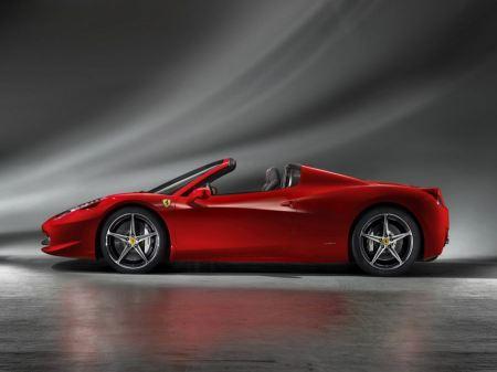 Free 2012 Ferrari 458 Spider
