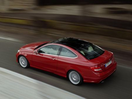 Free 2012 Mercedes C Class Coupe