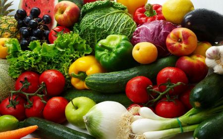 Free Variety Of Colorful Vegetables
