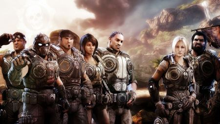 Free Gears of War Characters
