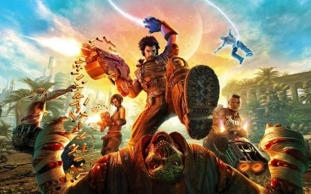 Free Bulletstorm 2011 Game Wide