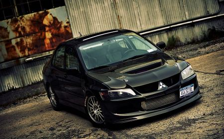 Free Super Cars Mitsubishi Lancer Evolution Viii