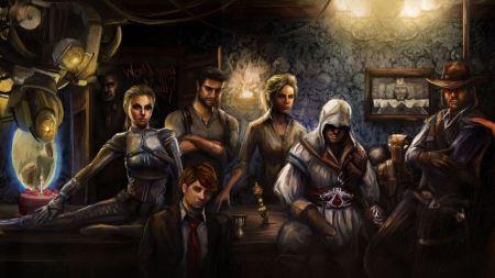 Free Portal Assassins Creed Lara Croft Drake Red Dead Redemption Uncha