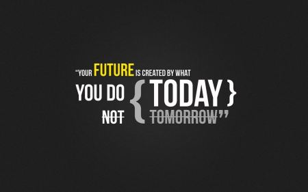 Free Futuristic Quotes Typography Today Textures Creative Tomorrow 3d