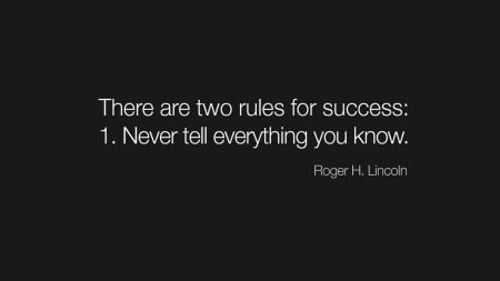 Free Rules Text Only Lincoln Success