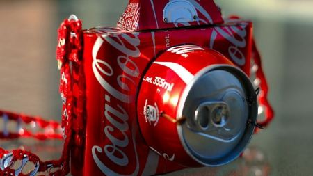 Free Coca cola Artwork Photo Camera Soda Cans Can