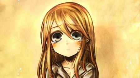 Free Big Eyes Brunette Anime Girl