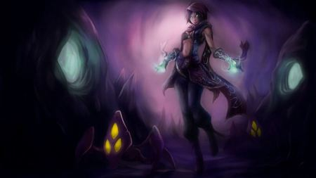 Free Paintings Video Games League Of Legends Rule 63 Malzahar Riot Gam