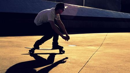 Free Cool Skateboarder