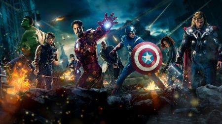 Free Superheroes in The Avengers