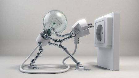 Free Electricity 3d Bulb