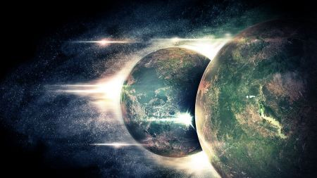Free Outer Space Stars Planets Digital Art
