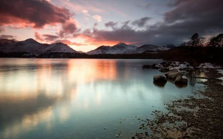 Free Sky Lake Reflections