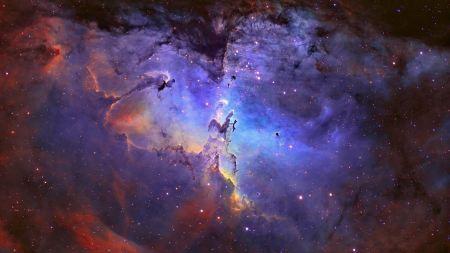 Free Outer Space Eagle Nebula