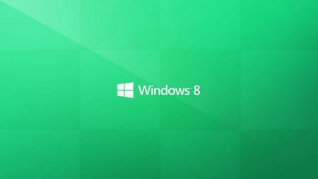 Free Windows 8 Metro Green Wallpaper