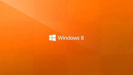 Free Windows 8 Metro Orange Wallpaper