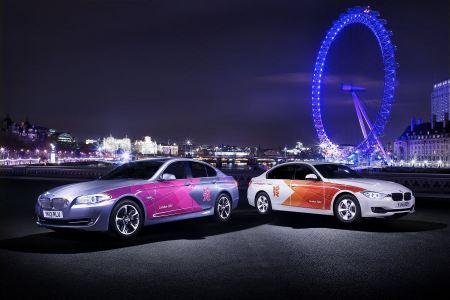 Free 2012 London Olympics BMW Car London Eye