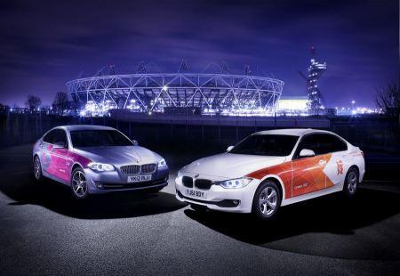 Free 2012 London Olympics BMW Car