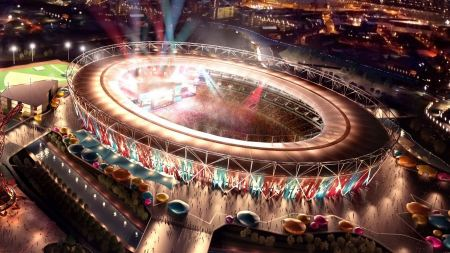 Free London 2012 Olympics Stadium Close up Photo