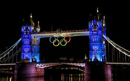 Free 2012 London Olympic Bridge