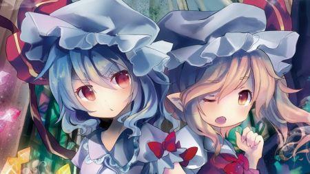 Free Vampires Big Red Eyes Anime Girls