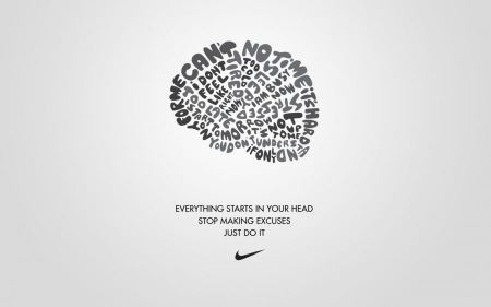 Free Texts Typography White And Gray Nike Sports Slogan Just Do It