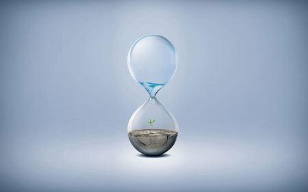 Free Minimal Water Hourglass Save The Nature