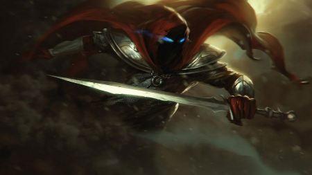 Free Blue Eyes Assassins Artwork Warriors Swords Digital Drawings