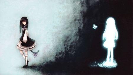 Free Silhouette Umineko no Naku Koro ni Gothic Wallpaper