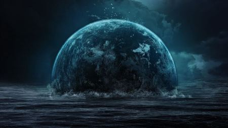 Free Sinking Planet Earth