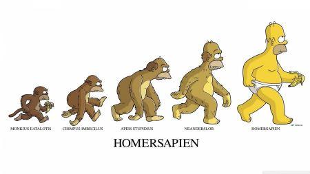 Free Homer Simpson Homersapien