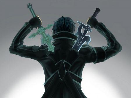 Free Kirigaya Kazuto with Swords