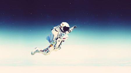 Free Red Bull Astronaut