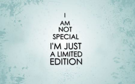 Free Minimalistic Text Funny Special Limited