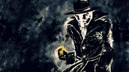 Free Watchmen Rorschach Superheroes Drawn Artwork