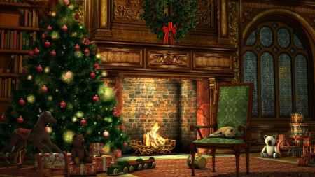 Free Christmas 2012 Wallpaper