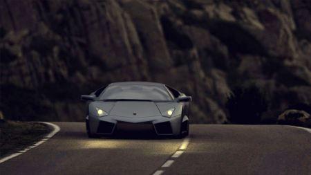 Free Gray Lamborghini Reventon