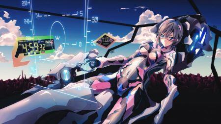 Free Neon Genesis Evangelion Makinami Mari Anime Girl