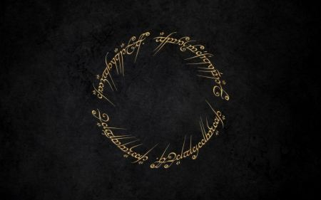 Free The Lord Of The Rings Writing Typography