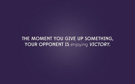 Free Text Quotes Purple Victory Sentence Never Give Up
