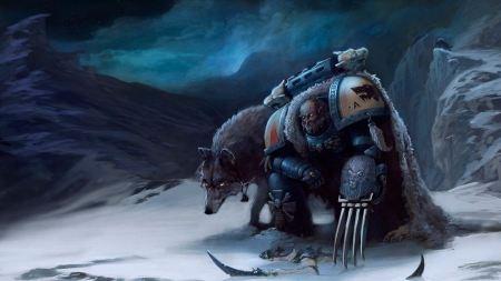 Free Warhammer Snow Scene