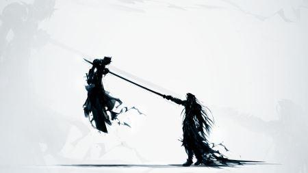 Free Final Fantasy VII Katana Sephiroth and Cloud Strife