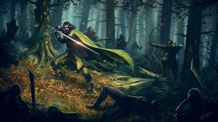 Free The Lord of The Rings Fantasy Art Wallpaper